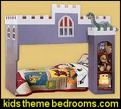 Children's Castle Lof bunk Bed Woodworking Plans