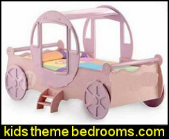 Princess Cinderella Carriage Twin Bed Woodworking Project Plans