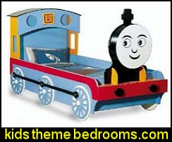 Train Engine Twin Bed Woodworking Project Plans, Do It Yourself - Design
