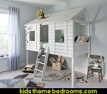 Treehouse Bed Mid Sleeper Cabin Bed theme beds