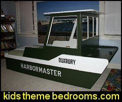 Tug Boat Bed - Woodworking Plans