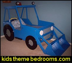 digger theme bed woodworking plans