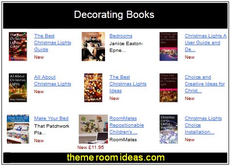 variety of decorating books