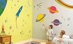 Fun To See Giant Wall Stickups - Ideal for home, school, creches and other spaces for babies and young children