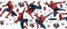 Spiderman 3 Stikarounds - click here to visit spiderman theme bedroom decorating ideas